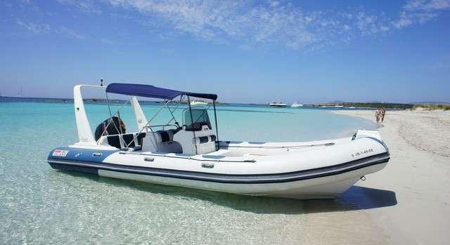 Alquiler Lanchas neumáticas en Ibiza